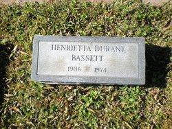 Henrietta <i>Durant</i> Bassett