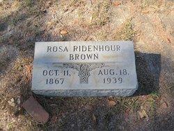 Rosa <i>Ridenhour</i> Brown
