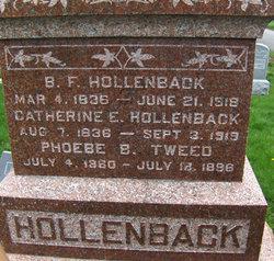 B. F. Hollenback