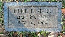 Lillie Eugenia Moss