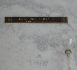 Caroline Victoria <i>J</i> Hatch