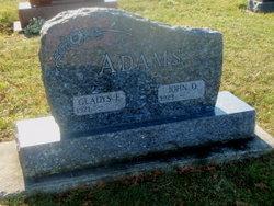 Gladys E <i>Schultz</i> MacDonald Adams