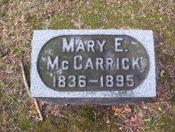 Mary E. <i>Carmer</i> McCarrick