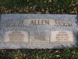 Cora <i>Wall</i> Allen