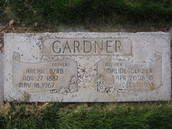 Maline <i>Glazier</i> Gardner