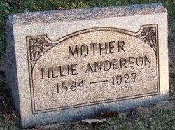 Tillie <i>Johnson</i> Anderson