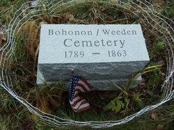 Bohonon - Weeden Cemetery