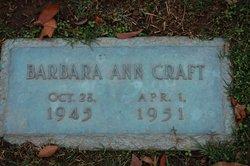 Barbara Ann Craft
