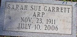Sarah Sue <i>Garrett</i> Arp