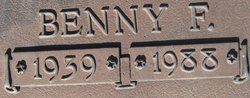 Benny F Jessup