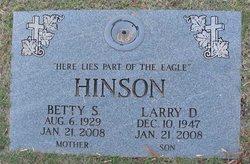 Betty Ruth <i>Miller</i> Hinson