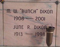 Melvel W Bunch Dixon