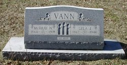 Lela Anna Josephine <i>Sparks</i> Vann