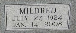 Mildred Lenore Milly <i>Lee</i> Haggard