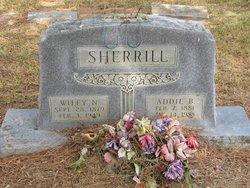 Addie B. <i>Allen</i> Sherrill