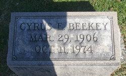 Cyrus E Beekey