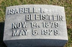 Isabell I <i>Cox</i> Bleistein