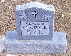 Elizabeath <i>Smith</i> Abercrombie