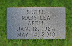 Sr Mary Lea Betty Abell
