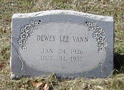 Dewey Lee Vann