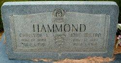 Catrina Christine <i>Jensen</i> Hammond