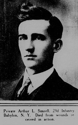 Pvt Arthur L. Simrell