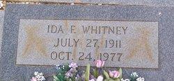 Ida <i>Bunk</i> Whitney