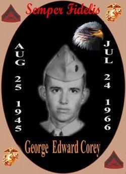 LCpl George Edward Corey