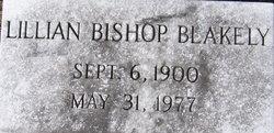 Lillian <i>Bishop</i> Blakely