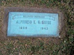 Alphonzo K McGuire