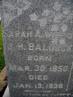 Sarah A. <i>Shinn</i> Baldock