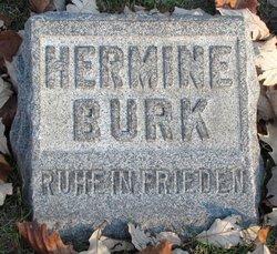 Hermine <i>Hellman</i> Burk