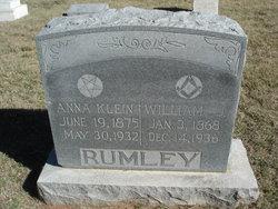 Anna <i>Klein</i> Rumley