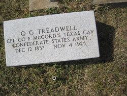 Oliver Goldsmith O. G. Treadwell