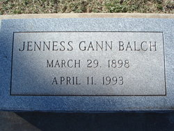 Jenness <i>Gann</i> Balch