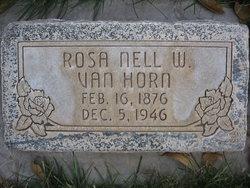 Rosa Nell <i>Webb</i> Van Horn
