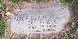 Alice Clarice Hunt