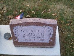 Gertrude L <i>Doege</i> Blaising