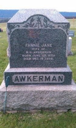 Fannie Jane Awkerman