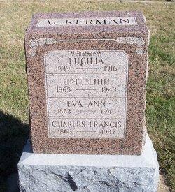 Charles Francis Ackerman