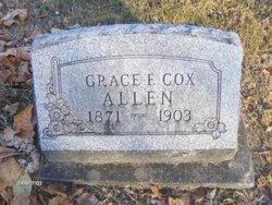 Grace E. <i>Cox</i> Allen