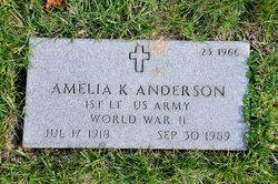 Amelia K Anderson