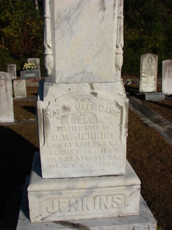 Varina Jefferson Davis <i>Bell</i> Jenkins