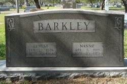 Nannie <i>Covington</i> Barkley