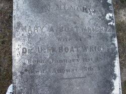 Mary Ann <i>Quattlebaum</i> Boatwright