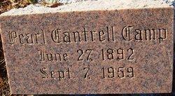Pearl <i>Cantrell</i> Camp