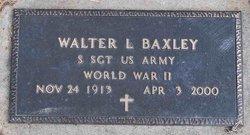 Walter Leon Baxley