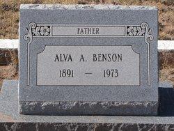 Alva Adam Benson