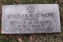 PFC Charles Roy Webb