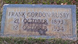 Frank Gordon Busby